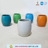 De Ceramische Mok van de Vorm van de planeet zonder Handvat