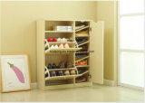 Einfache 3 Schicht-moderner hölzerner Schuh-Schrank