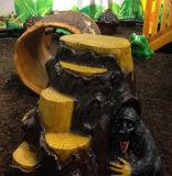(Incluía!) Kaiqi grandes temáticas Treehouse antigo parque infantil (KQ35007A)