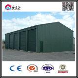 Edificio ligero de la estructura de acero para el garage