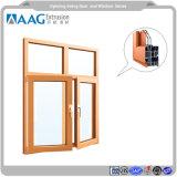 La lega di alluminio di alta qualità si è sporta profili con superficie anodizzata per la finestra e portello e parete divisoria