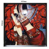 صنع وفقا لطلب الزّبون [هند-مد] مينا لون صورة زيتيّة يليّن زخرفة زجاجيّة بيتيّ
