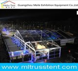 Festival-transparenter weißer Rahmen-im Freienhochzeits-Zeremonie-Zelt