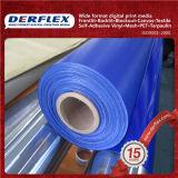 Tela incatramata di plastica blu resistente della tela incatramata dell'acqua come riparare una tela incatramata