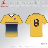 Maillot de football nouveau design, maillot de football Sublimaion