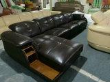Arrivée neuve, meubles de salle de séjour de Ciff, sofa en cuir moderne (A64#)