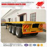 Remorque de châssis de conteneur de plate-forme du prix usine de Qilin 20FT 40FT