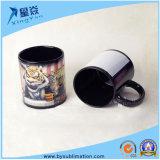 Tasse en céramique polychrome de blanc de sublimation