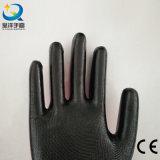 Nylon перчатки работы безопасности работы перчатки раковины покрынные Natrile защитные (N7003)
