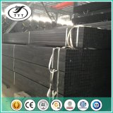 Quadrato nero del tubo/tubo d'acciaio rettangolare con acciaio dolce