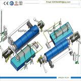 20 طن مطّاطة انحلال حراريّ معمل اثنان مفاعلة عمل معا