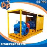 Água de inundação de elevada capacidade da bomba de desidratação com reboque