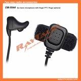Radio à deux voies de l'oreille OS avec le doigt de microphone PTT (EM-5044)