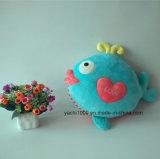 Kids Lovely Gift Peluche en peluche poisson au coeur