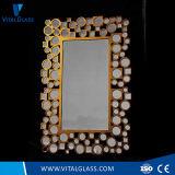 Lo specchio di arte/specchio della parete/specchio decorativo/trucco che veste lo specchio/scelgono/specchio di alluminio libero a doppio foglio/specchio d'argento/specchio della stanza da bagno