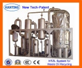 HTZL-V Máquina de destilação de vácuo de purificação do óleo de resíduos