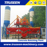 planta de procesamiento por lotes por lotes concreta completamente automática del gran escala 150m3/H