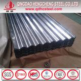 feuille 900mm bon marché de fer ondulé en métal de 6FT 8FT 800mm