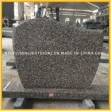 G664 van de Roze/Bruine Grafsteen van het Graniet van Rode Goedkope Monumenten