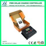 12V/24V 30A Bateria de lítio do controlador de carga solar com LCD/Porta USB (QWP-SR2430HP Um)