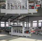 Cantos de PVC de MDF automático automático de la máquina de alimentación a través de la máquina de cantos
