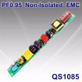 6-20W PF0.95 EMC QS1085를 가진 비고립 LED 램프 전력 공급