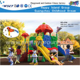 Banheira de venda de equipamentos de playground coberto de crianças pequenas Amusement Games definido (HD-4402)