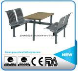 Vector del acero inoxidable y silla que espera
