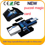 USB Puzzle Paper Card mit Branding Custom Logo For Business Git