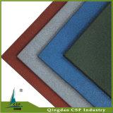 Gummibodenbelag mit unterschiedlicher Farbe für Park-Boden