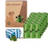 Caca de perro mascota gruesas bolsas de basura residuos desechables bolsas de caca caca bolsa para residuos perro gato