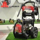 180 bar benzinemotor Elektrische hogedrukwaterstraalwagen Wasmachine voor reinigingsvloeistof