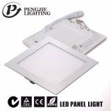 Painel de LED de 9 W de luz para iluminação de tecto Hotéis com marcação CE