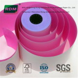 Rollo de papel autocopiante NCR/Rollo de papel / Rollos de papel quimico para caja registradora electrónica