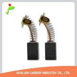 Щетка углерода 1 пары для конкретной щетки углерода мотора Autostop 2pieces/Set 7X11X17 точильщика угла G15SA2/999043 резца Cm4sb2