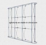 La molla di alluminio del tubo rotondo piano di figura di alta qualità schiocca in su il basamento