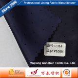 Tessuto della ratiera del poliestere di alta qualità per il rivestimento Jt314 dell'indumento