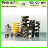 Alimentación Tedrail tren de metal de la primavera/ Abrazadera de muelle de torsión