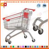 Тележка руки покупкы провода супермаркета цинка типа евро (Zht102)