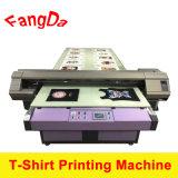 Impresora de los pedazos de la camiseta con la impresión directa de la tinta del pigmento