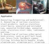 Máquina de aquecimento de alta freqüência da indução para o recozimento do aço inoxidável
