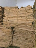 Umweltfreundlicher Jutefaser-Leinwand-Reis-Beutel für Verpackung 50kg
