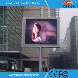 P5 indicador digital fijo al aire libre de la instalación LED