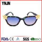 2017 Novos produtos Hand Made Denim Unisex Óculos de sol (YJ-30002)