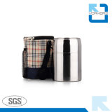 304 Container van het Verwarmingstoestel van het Voedsel van het roestvrij staal de Vacuüm Geïsoleerde