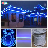 Blaues haltbares neues LED Flexneonentwurf des Feiertags-