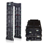 Metal detector portatile Um700 24zones, metal detector del blocco per grafici di portello, camminata tramite i cancelli
