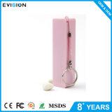 2000mAh Parfum Chargeur d'urgence pour téléphone portable avec porte-clés