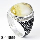 Ring van uitstekende kwaliteit van de Juwelen van het Product de Zilveren
