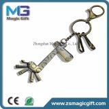 선물 기념품을%s 도매 3D 새로운 디자인 말 아연 합금 금속 Keychains